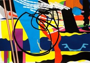 'collage no.4' 2012 82 x 60cm