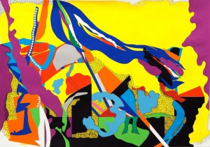 'collage no.3' 2012 82 x 60cm