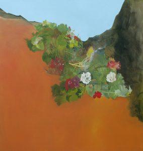 'Adaptation' acrylic on canvas 90 x 95cm