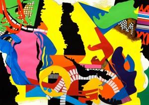 'collage no.2' 2012 82 x 60cm
