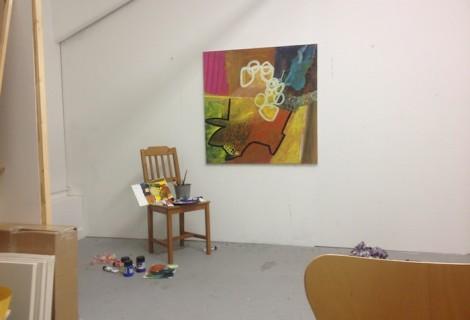 Acrylic Paintings 2014
