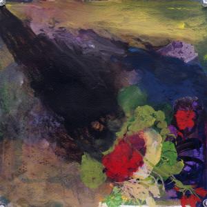 Little devil, Watercolour 25 x 25cm