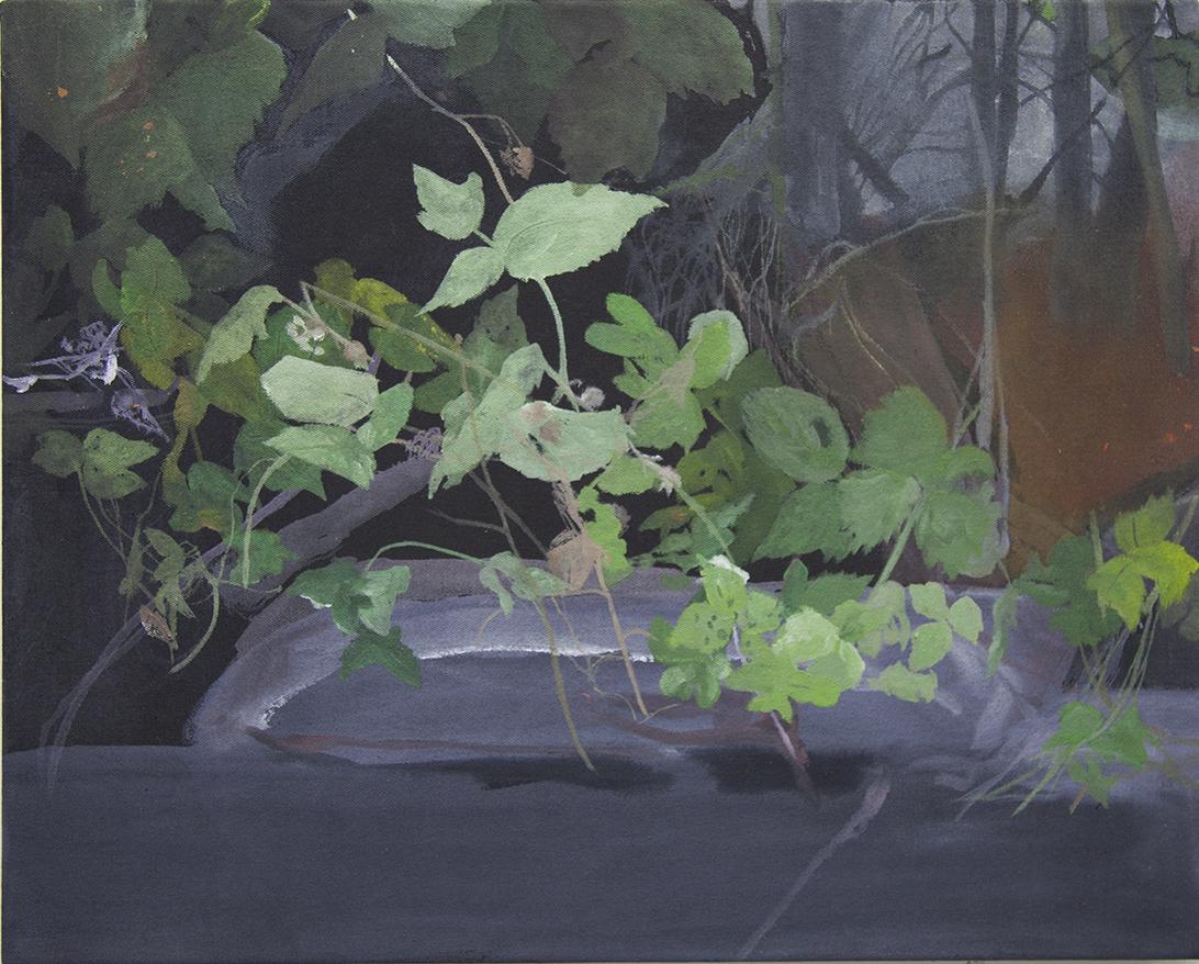 Beyond the Margin, Acrylic on canvas, 51 x 41cm
