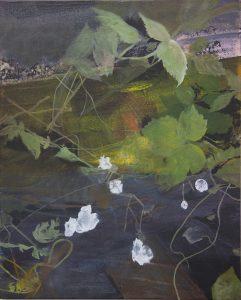 Angel Pavement - acrylic on canvas. 41 x 51cm